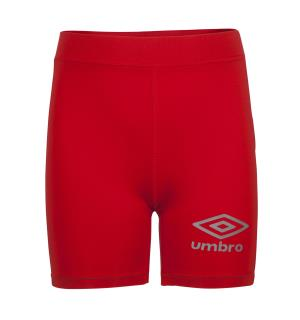 UMBRO Vulcan Underw Tights jr Rød 116 Teknisk kompresjonstights i klubbfarger