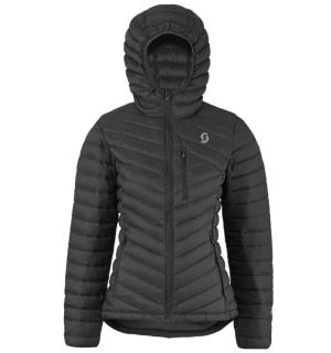 SCOTT Insuloft Down Jacket W Sort XL Varm damejakke i premium-kvalitet
