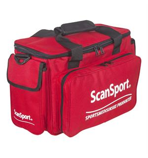 SCANSPORT Medisinbag proff (tom) Bag for sportsmedisinsk utstyr