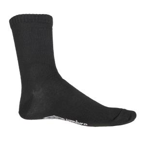 UMBRO Core Socks 3 pk Sort 40-44 Gode fritidsstrømper