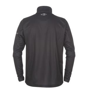 UMBRO Sublime Half Zip 2 jr Sort 164 Sublimert klubbgenser med glidelås