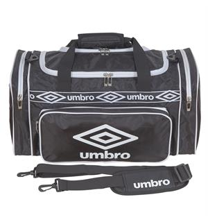 UMBRO Retro Holdall Sort M Perfekt terningsbag