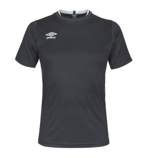 UMBRO UX Elite Trn Tee jr Sort/Hvit 152 Teknisk trenings t-skjorte til junior