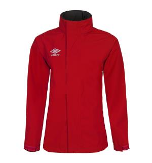 UMBRO UX Elite Rain Jacket Jr Rød 152 Regnjakke til junior