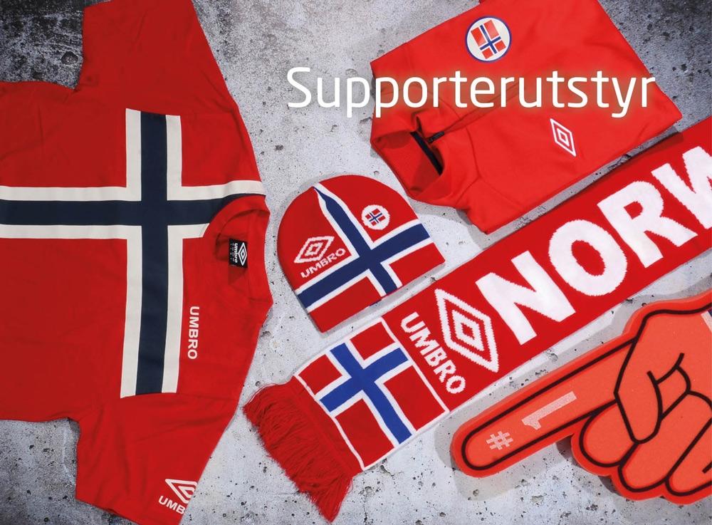 56257d3a UMBRO Norway scarf Rød 0 Skjerf for supporteren